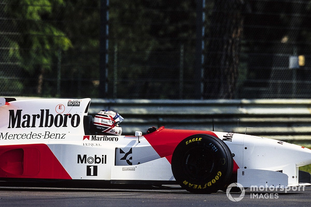 The car that ended Nigel Mansell's F1 career