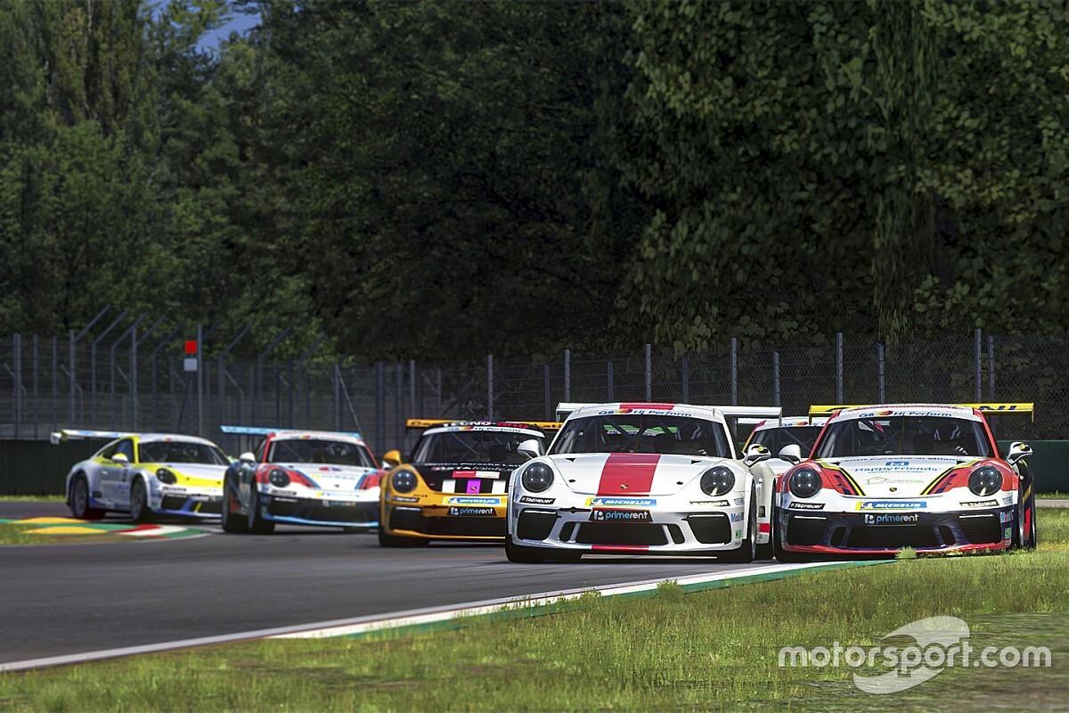 Supersfida alla Nordschleife nella Porsche Esports Carrera Cup Italia