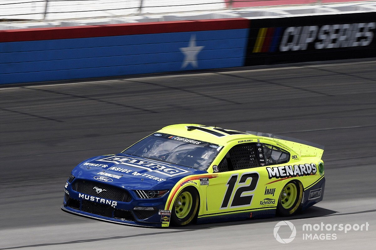 "Ryan Blaney: ""I think that things will eventually go our way"""