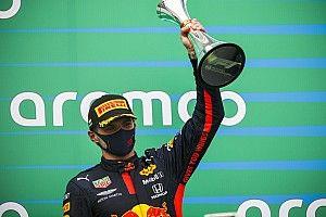 """Verstappen: """"Il 2° posto è come una vittoria, dopo il botto"""""""
