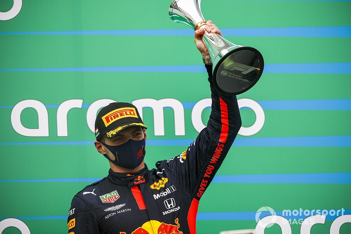 "Horner: ""Verstappen, Macaristan GP'de kendini affettirdi"""