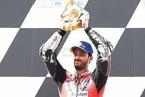 Red Bull Ring MotoGP: Dovizioso wins crash-strewn race