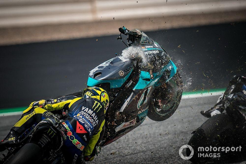 Las fotos de las caídas del terrible GP de Austria de MotoGP... y Moto2