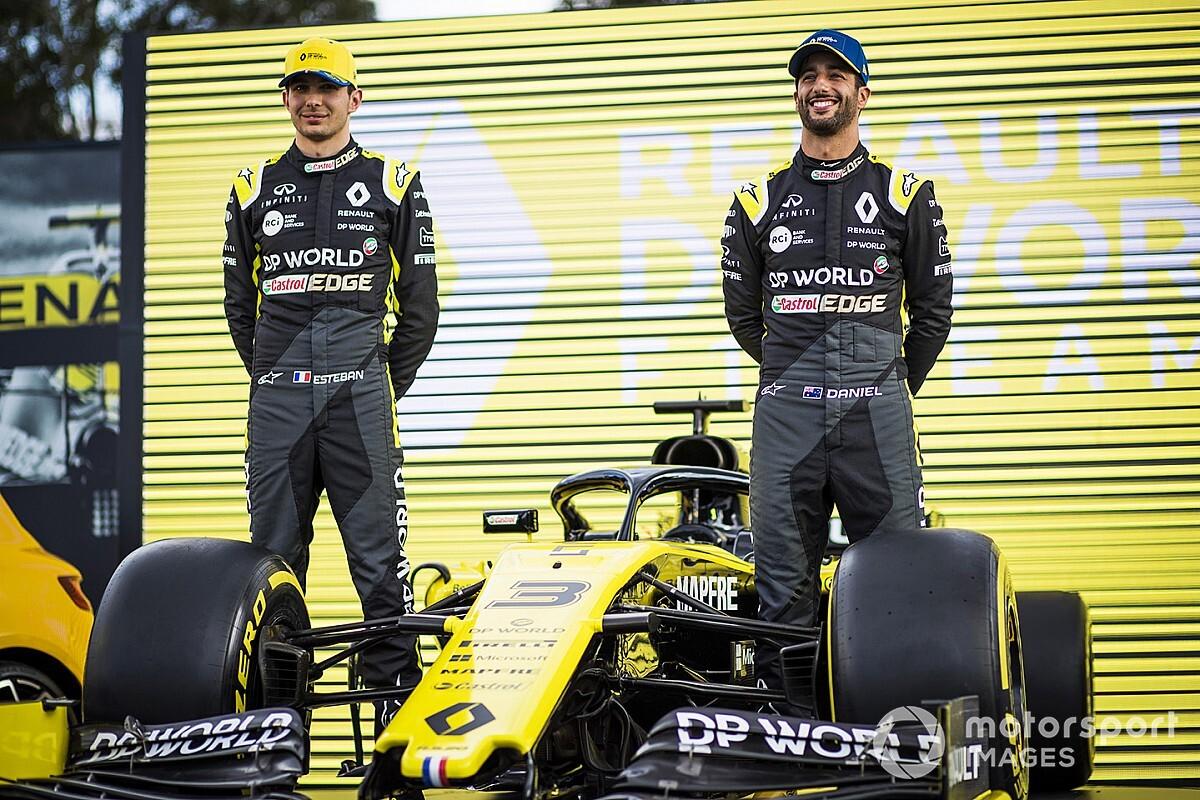 F1: Renault farà un test in Austria con Ricciardo e Ocon