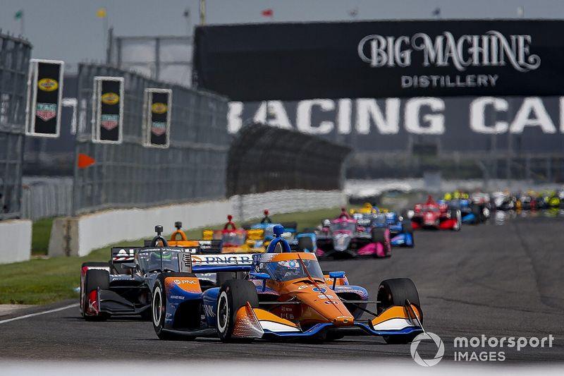 Indy GP: Dixon gana de nuevo; Palou, 19º