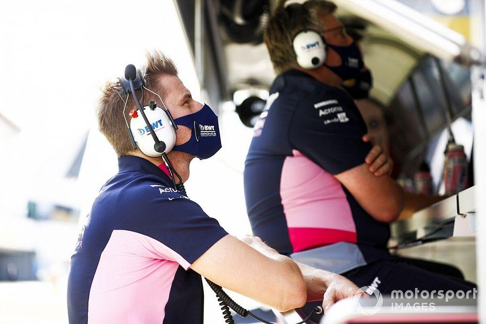 Hulkenberg: British GP DNS fitting after crazy days