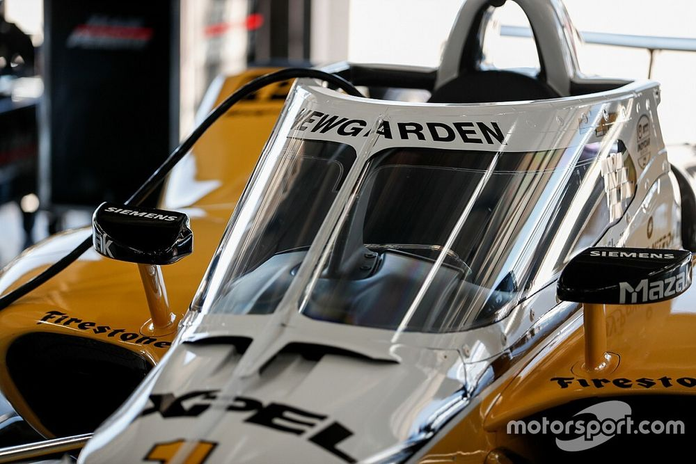 "Penske, Ganassi drivers ""didn't notice"" aeroscreen at Texas"