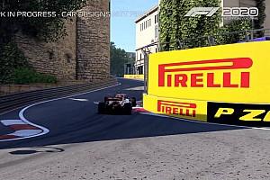Le jeu F1 2020 dévoile le circuit de Bakou