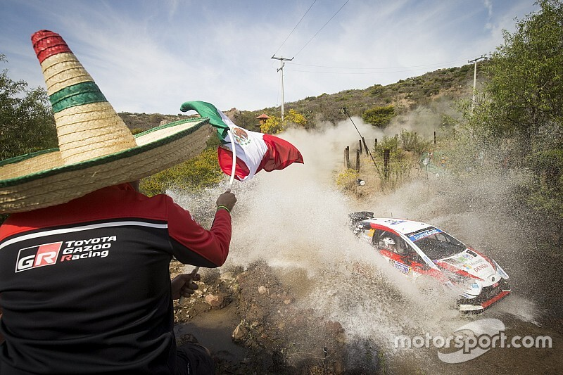 GALERÍA: las imágenes del primer día del Rally México