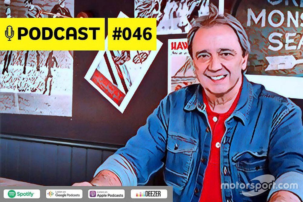 Podcast #046 – Entrevista com Reginaldo Leme: a lenda na cobertura da F1