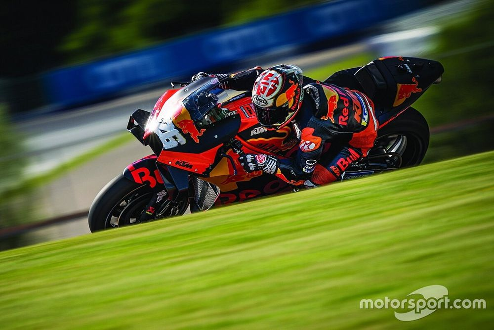 KTM completa primera prueba de MotoGP tras el coronavirus