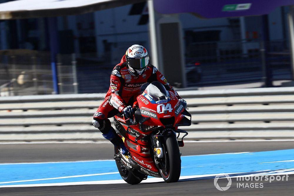 """Les Ducati """"pas encore au point"""" avec le nouveau pneu"""