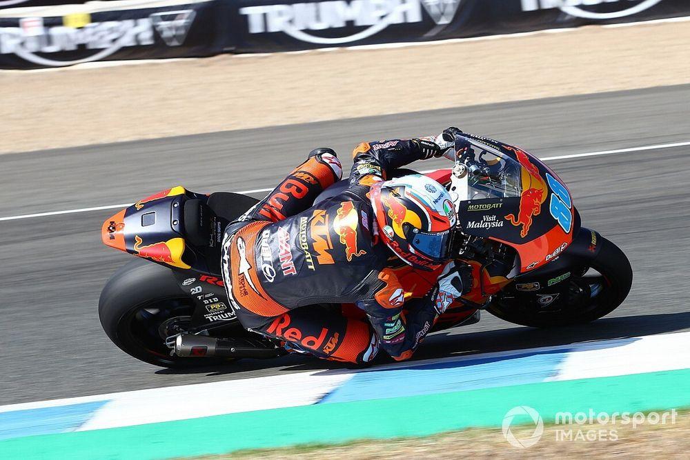 Moto2, Andalusia, Libere 3: Martin in vetta, Nagashima cade