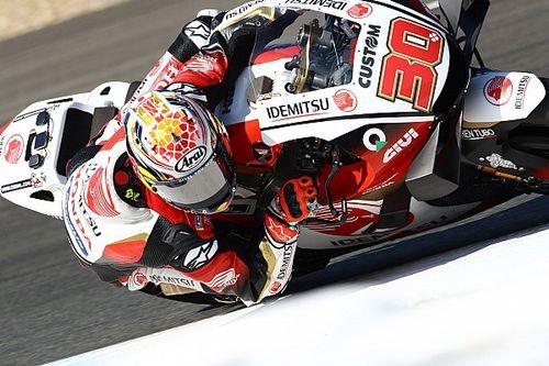 MotoGPチェコFP1:中上貴晶、トップタイムで存在感発揮! マルケス不在のホンダ引っ張る