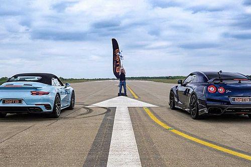 Porsche 911 Turbo S vs. Nissan GT-R – vajon melyik a gyorsabb?