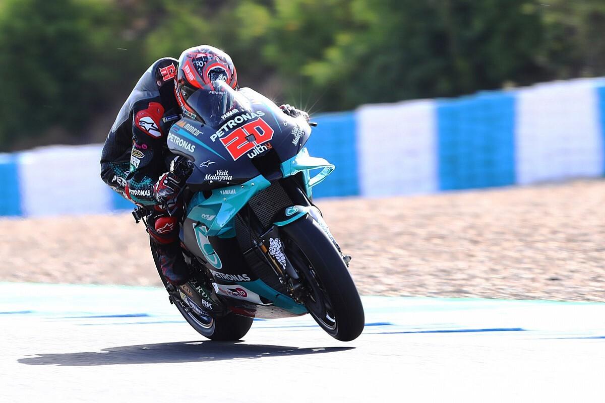 Quartararo rijdt ronderecord in derde training GP van Spanje