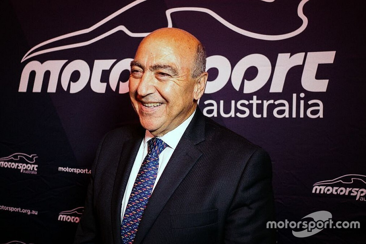 Motorsport Australia president announces retirement
