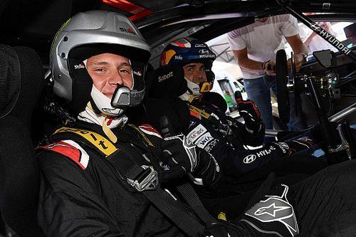 Quartararo a découvert les sensations du WRC