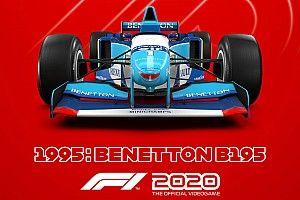 Ilyen élvezetes lesz Schumacher legendás autójával az esős Monacóban hajtani az F1 2020-ban