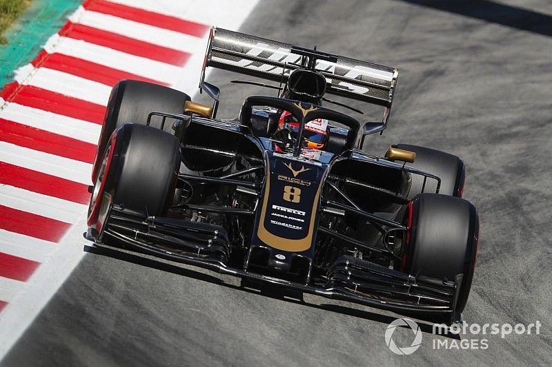 Grosjean songe à titiller les Red Bull à Barcelone