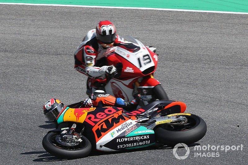 KTM se derrumba en Moto2