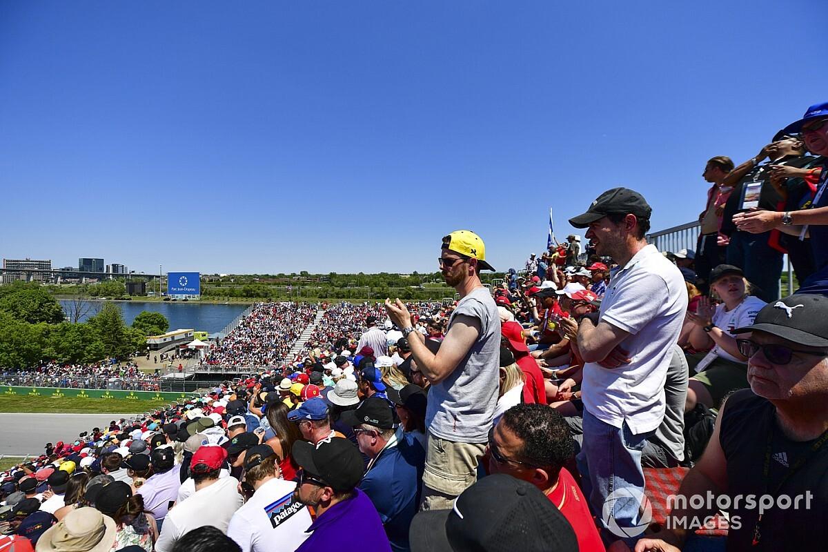 'Geen haast' bij F1 om fans terug te laten keren bij Grands Prix