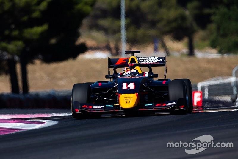 Fotogallery F3: lo svizzero Fabio Scherer, Jenzer Motorsport e il Sauber Junior Team al Paul Ricard