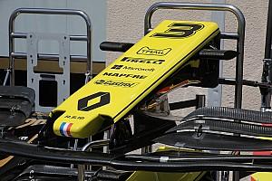 Renault: il muso della R.S.19 mette il mantello a forma di manta