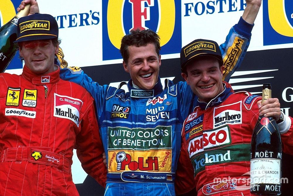 Há 26 anos, Barrichello conquistava 1º pódio na F1; relembre a carreira do brasileiro