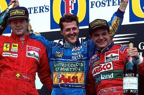 Cuando Barrichello pudo sustituir a Schumacher en Benetton
