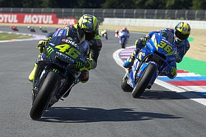"""Rossi: """"Ook MotoGP werkt aan simrace met de rijders"""""""