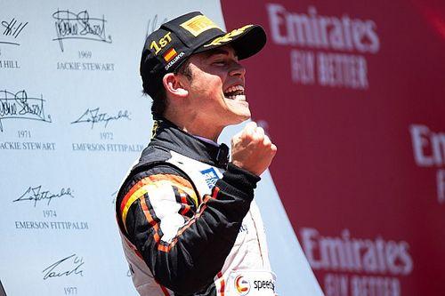 F2 Spanyol: De Vries juarai sprint, Gelael finis P9