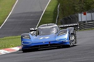 VW I.D. R turns first Nurburgring practice laps