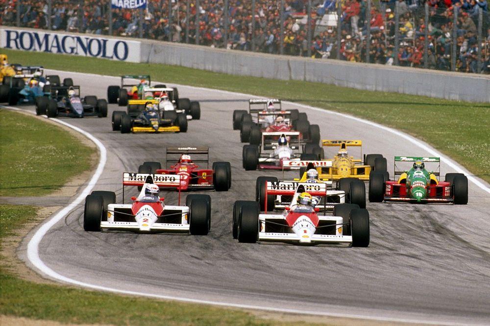 C'était un 23 avril: Senna et Prost se déchirent, Berger miraculé