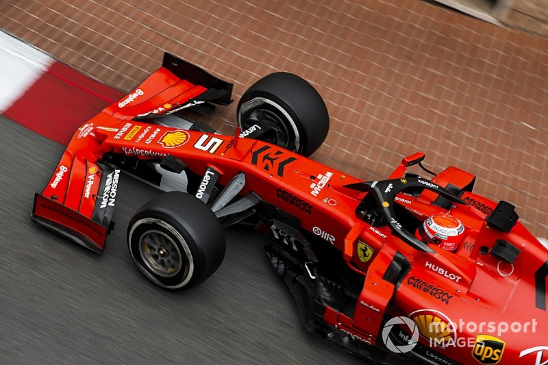 Vettel cree que Ferrari no luce mal