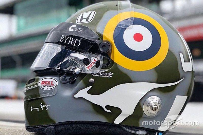 James Davison honrará a su legendario abuelo aviador en Indy 500