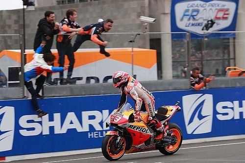 Trabajadísimo triunfo de Márquez en Le Mans