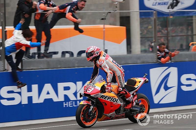 MotoGP Le Mans: Marc Marquez holt den 300. Sieg für Honda