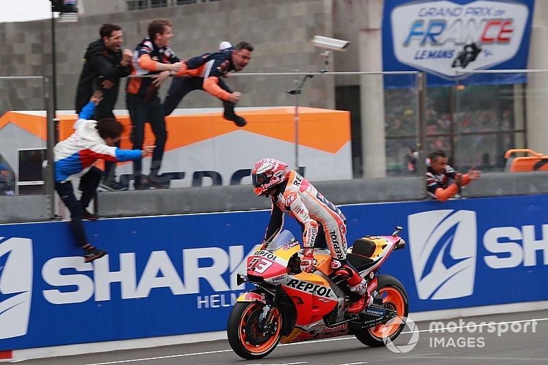 Fotogallery MotoGP: Marquez vince anche in Francia davanti alle Ducati
