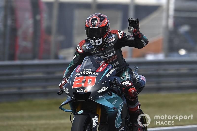Sachsenring MotoGP: Quartararo edges Marquez in FP1