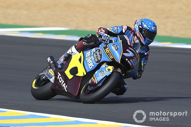Le Mans Moto2: Marquez ends winless streak