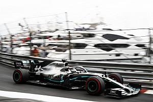 Brutális különbséggel végzett az élen a Mercedes Monacóban csütörtök délután