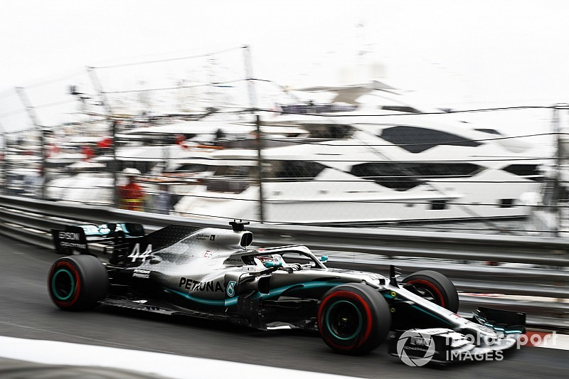 """Hamilton leader avec une F1 digne du """"rêve de tout pilote"""""""