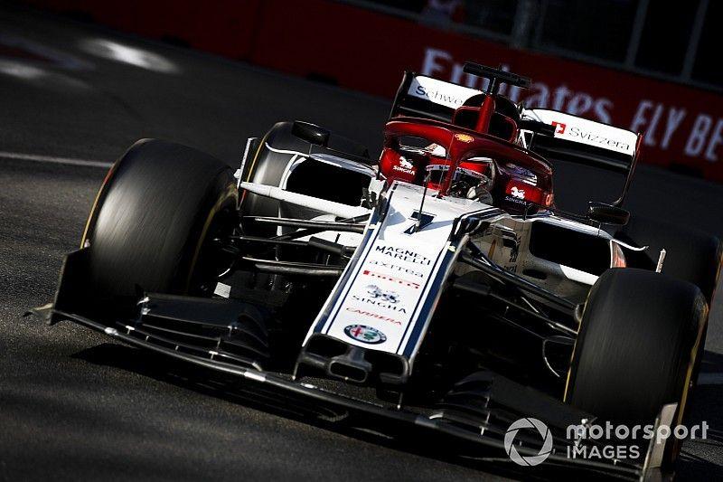 Raikkonen: Alfa Romeo sabía de su problema con el alerón delantero