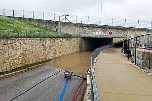 El temporal en Texas deja inundado parte del Circuito de las Américas