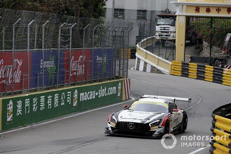 Macau GT: Marciello snatches pole for Mercedes