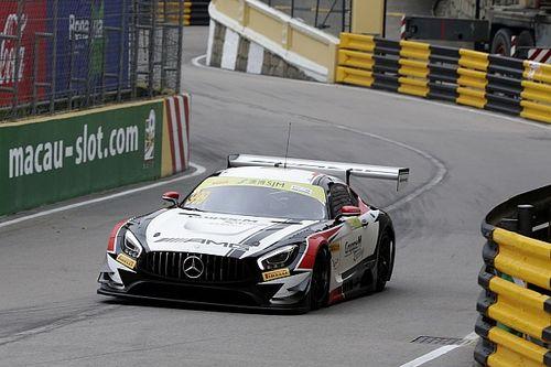 GT-Weltcup Macau: Last-Minute-Pole für Mercedes