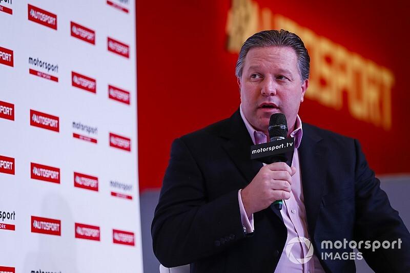 """Brown: """"McLaren, 2022'de fırsat yakalayacak"""""""
