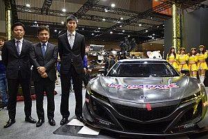 アップガレージに松浦孝亮が加入、マシンはNSX GT3にスイッチ!