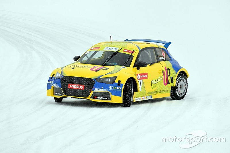 Andros Trophy to switch to all-electric cars on ice next winter